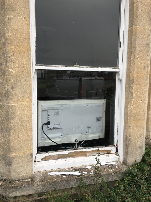 Renovation of old wooden windows