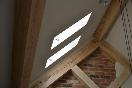 windows in timber frame property