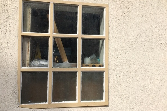 Renovation of decayed timber windows in Great Chishill