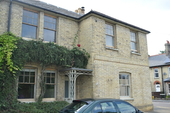 Renovation of old sash windows in Snailwell