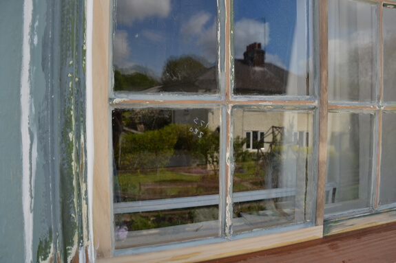 Wooden windows repair in Ickleton
