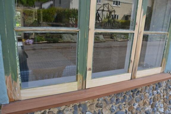Window repair process