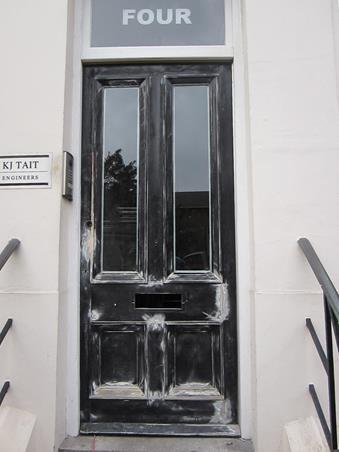 exterior door painting cambridge