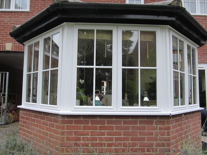 complete refurbished bay window