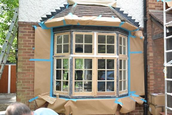 Windows painting in Cambridge