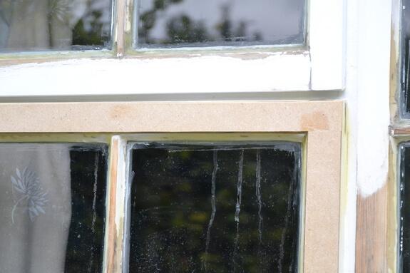 Wooden windows restoration Barley