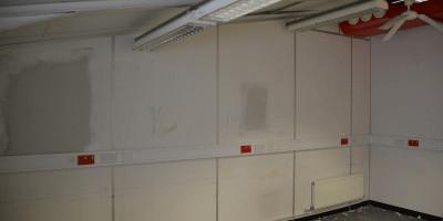 Outspoken, Painting vandalised premises
