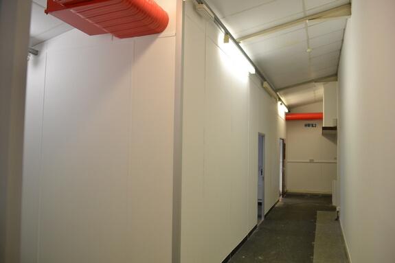 Painting vandalised premises