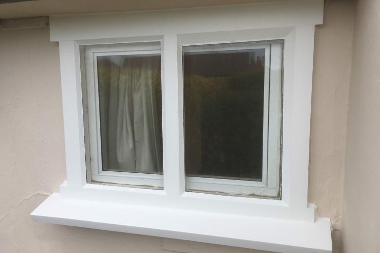 West Wratting cottage window