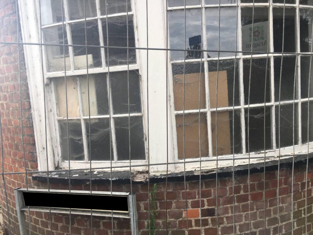 bow sash window