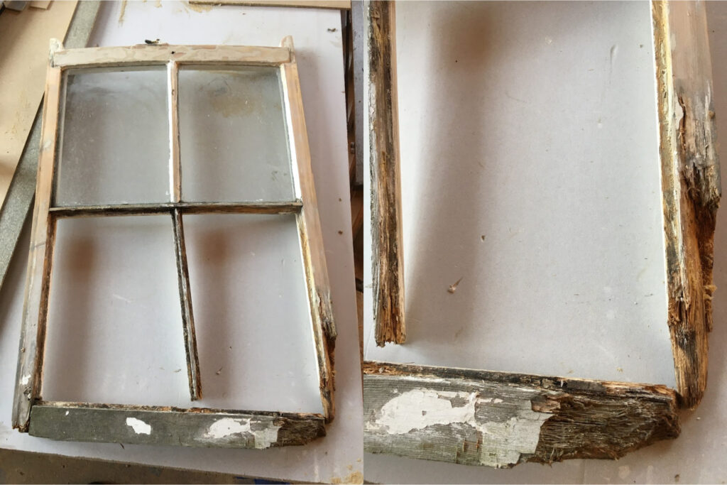 Grade II listed cured windows