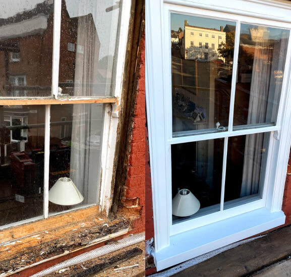 Sash and Casement Windows Restoration