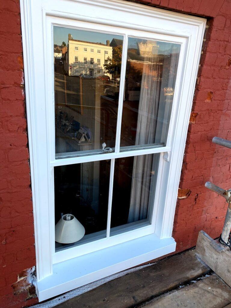 windows decoration and painting potton