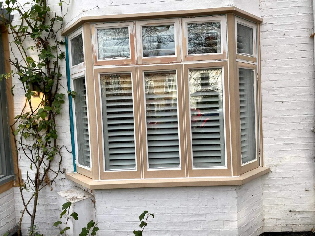 Casement windows restoration