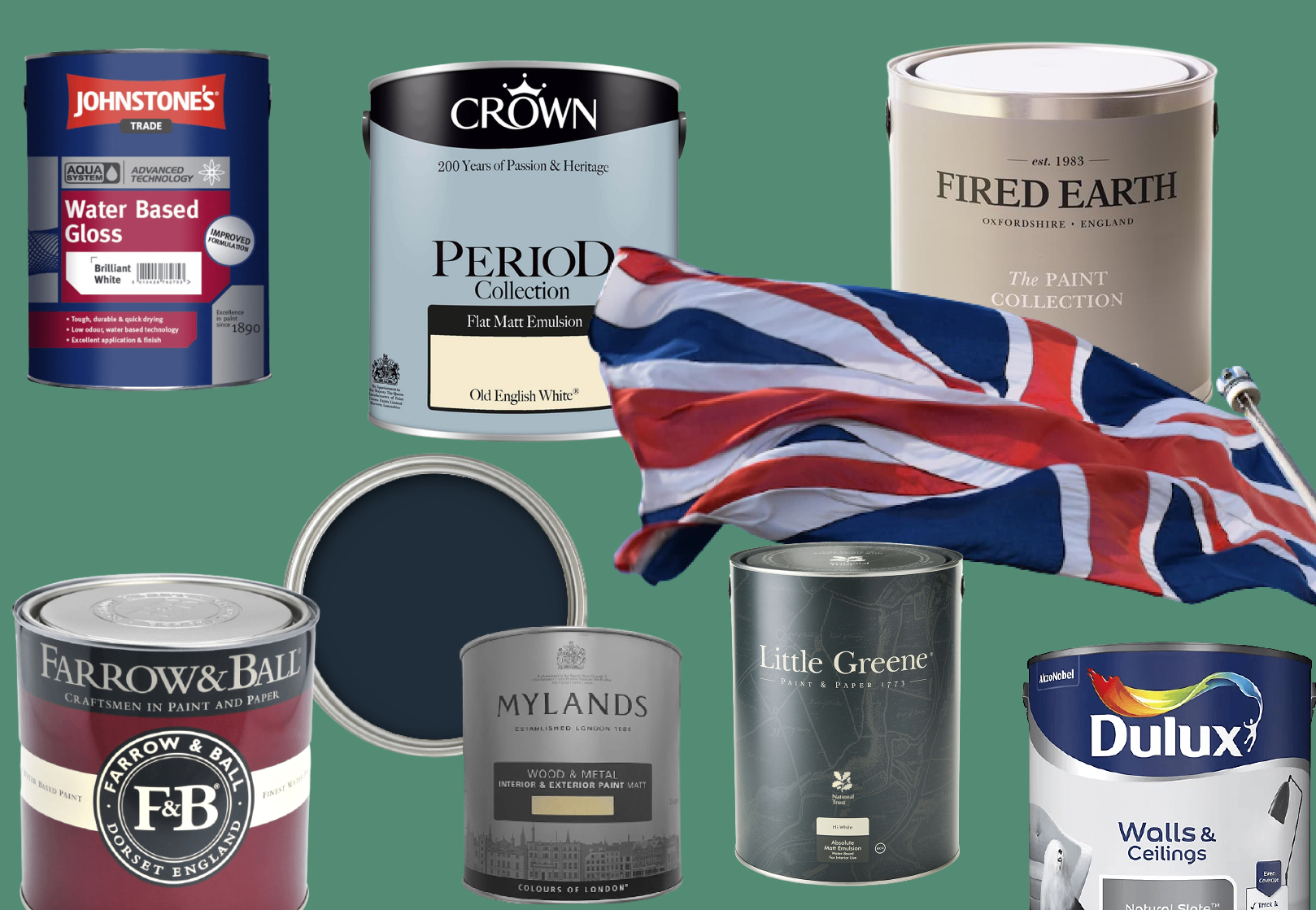 The 10 Best UK Paint Brands