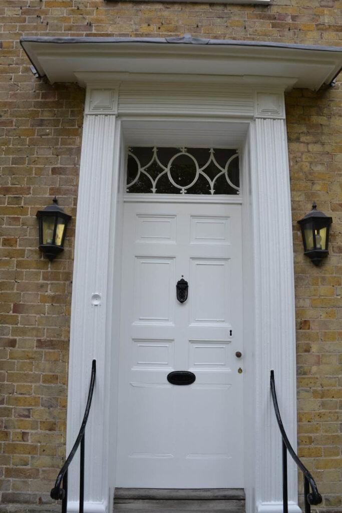 door re-decorated