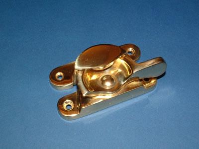 brass Fitch fastener
