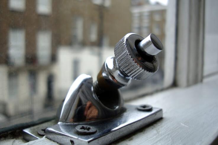 Install sash window screw locks