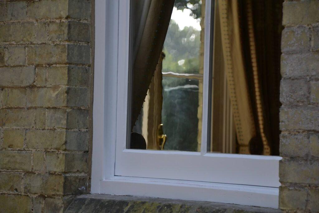 Sash window refurbishment in Shepreth