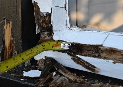 sash window frame repair
