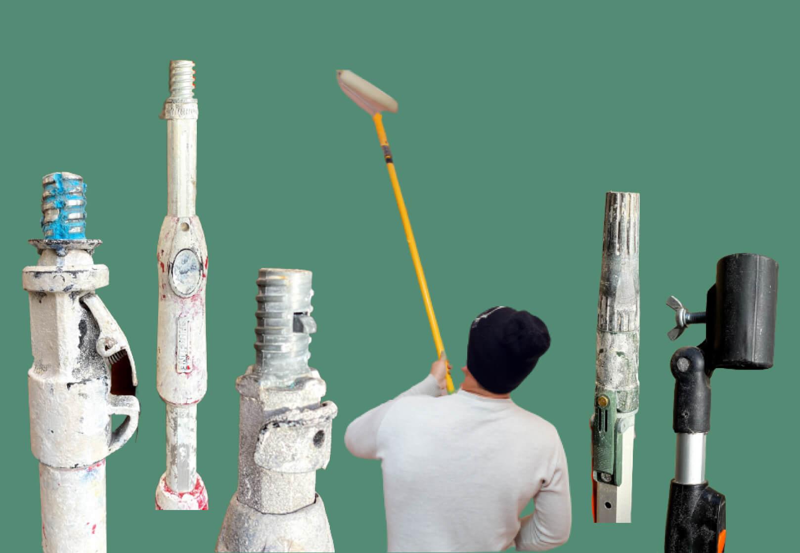 5 Best paint roller extension poles