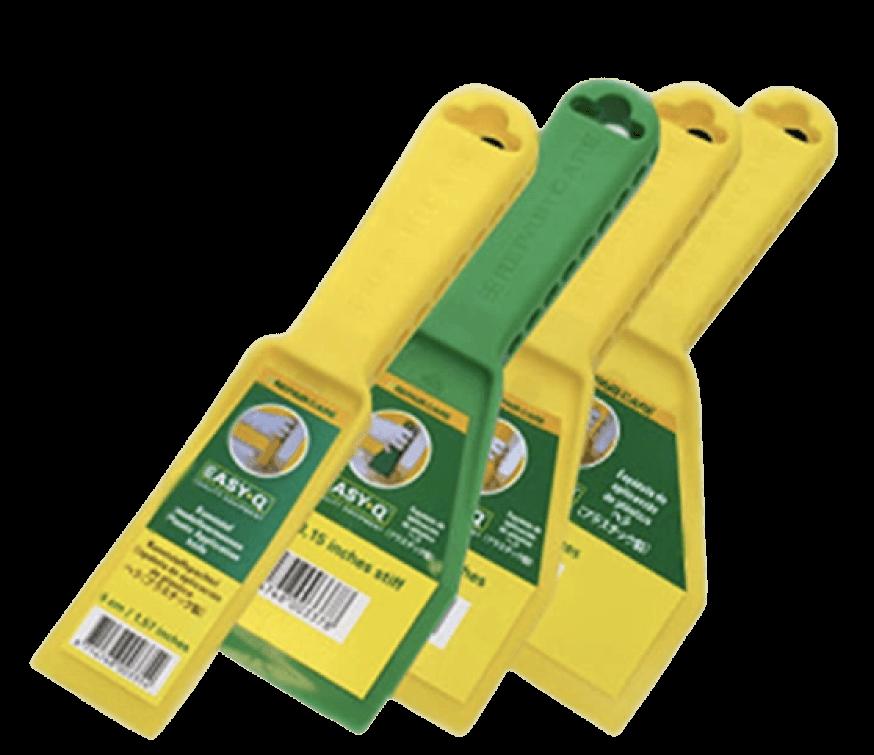 plastic spatulas