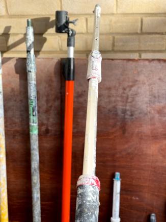 Sherlock Extension Pole with brush adaptor