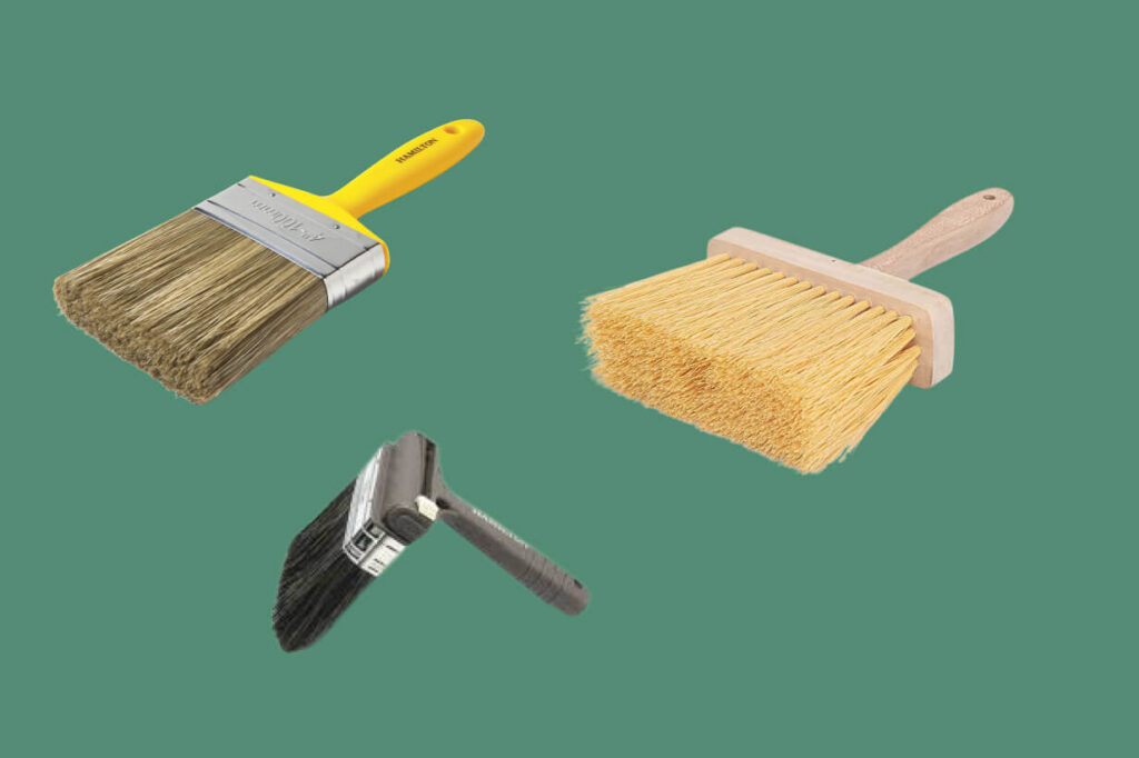 What is a masonry paintbrush?
