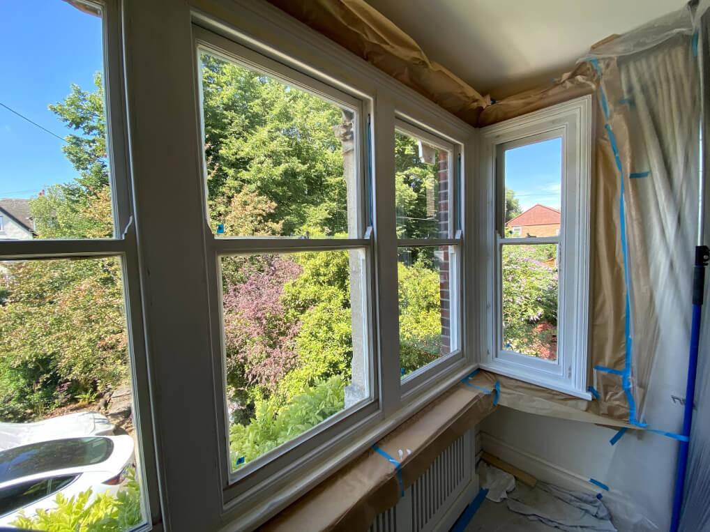 vacuum glazing installation