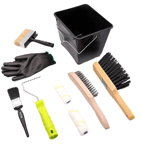 Fence Painting and Shed Painting Kit