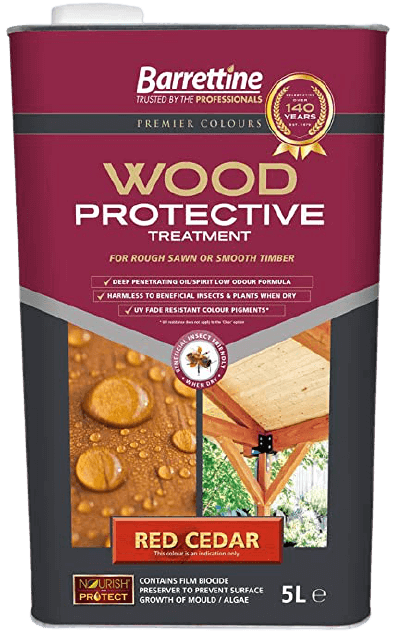 Wood Protective Treatment for fence
