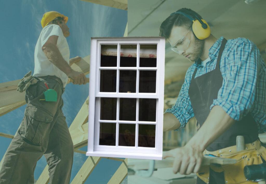 carpenter or joiner to repair windows