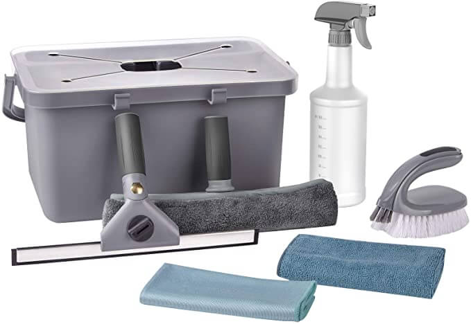 MR.SIGA 7-Piece Household Cleaning Supplies Set