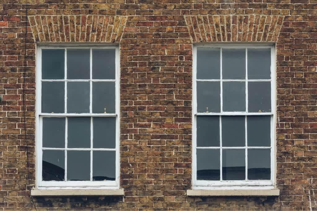 classic Georgian windows