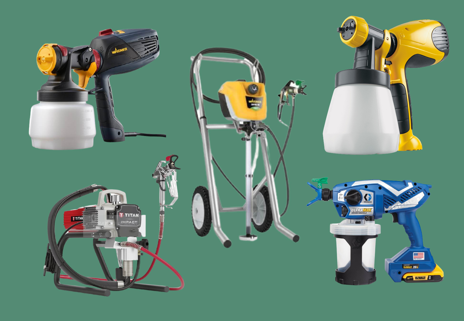 Best 5 Paint sprayers UK Review by professionals for DIYers 2021