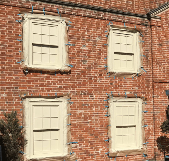 Windows Painting and Paint Spraying