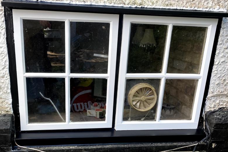 Window sill replacement and complete refurbishment | after