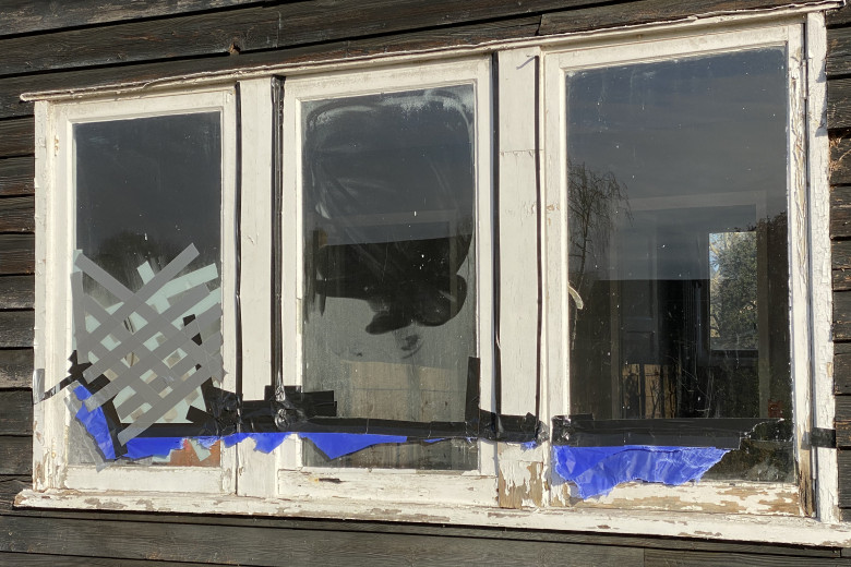 Repair and Double Glazing retrofitting | before
