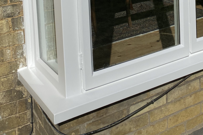 Bay window timber frame renovation | after