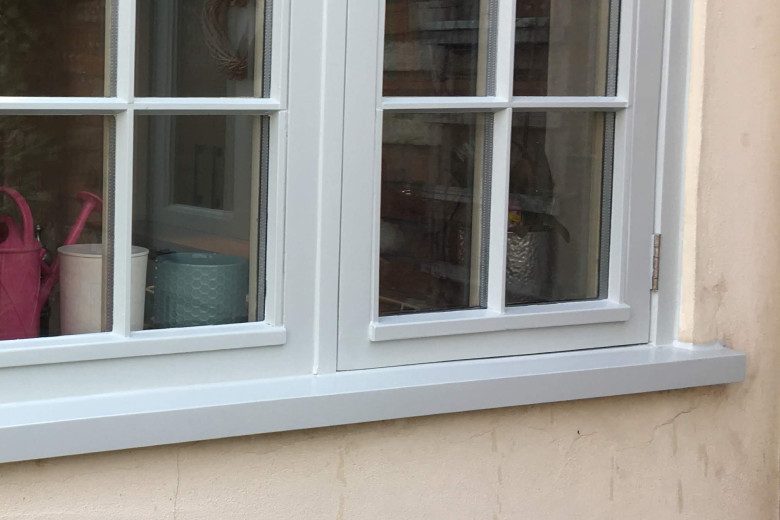 Casement window sill replacement | after