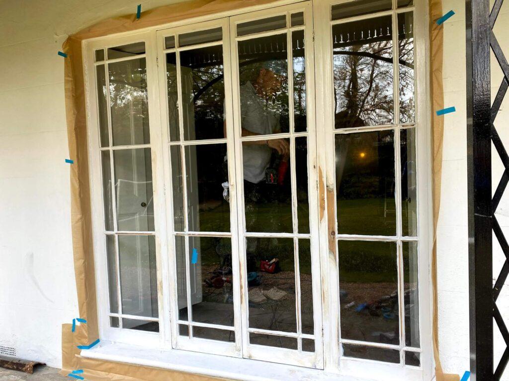 repair french door