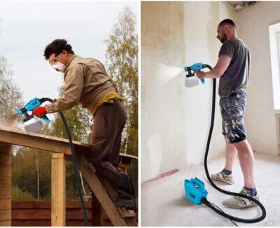 Tilswall 800 Watt Home Electric Spray Gun