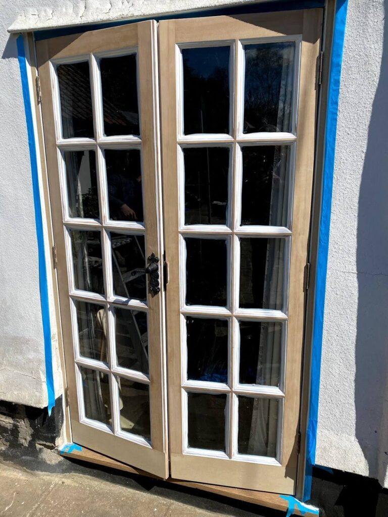 timber door overhaul