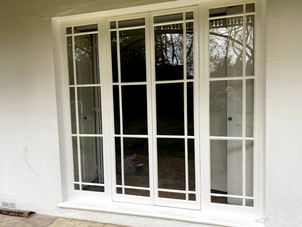 timber french doors repair