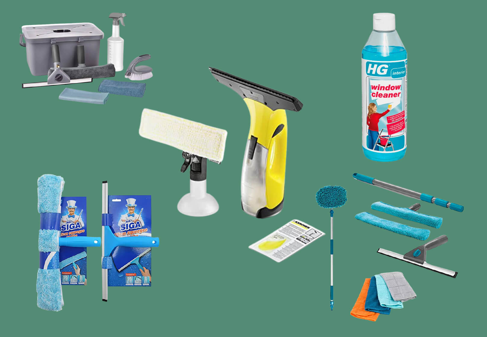 Best 5 UK Window cleaning kits | Professional cleaning kits
