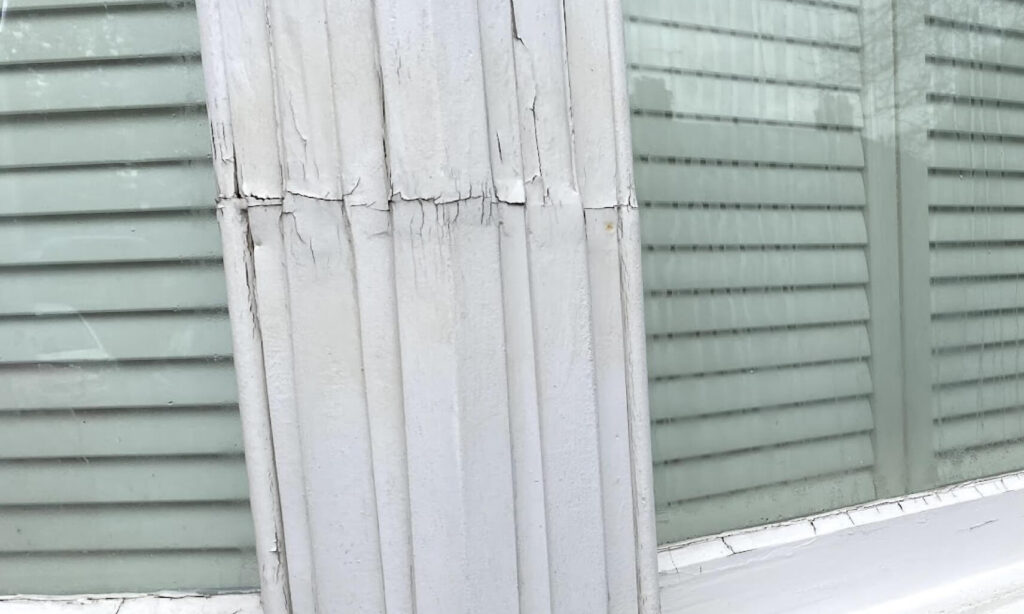 rot on windows frame joints