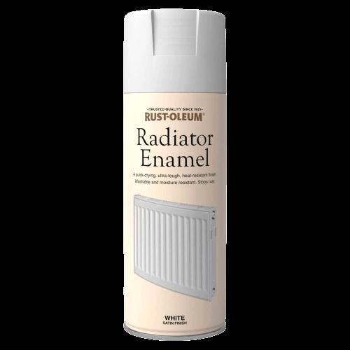 Rust-Oleum Enamel Radiator Spray Paint