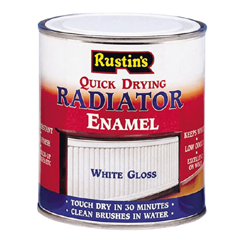 Rustins Quick Dry Radiator Paint