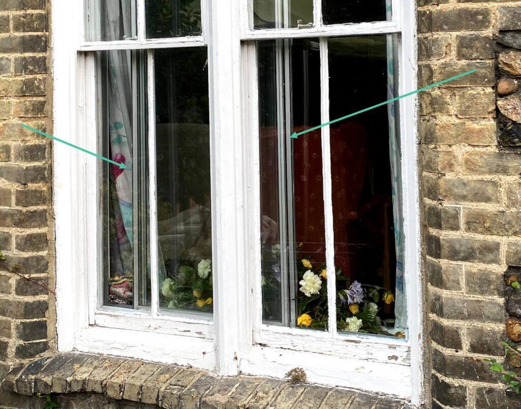 Secondary glazing for window insulation